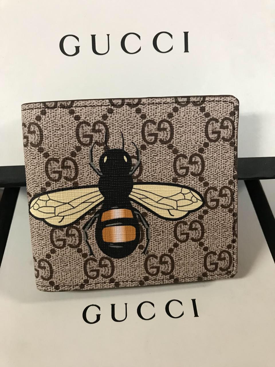 costo moderado hermosa en color comprar lo mejor Billetera Gucci Bee